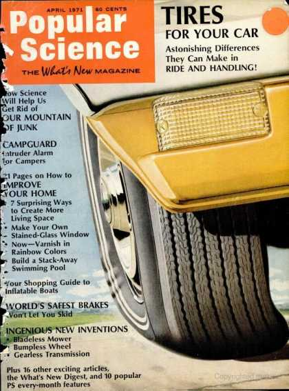Popular Science - Popular Science - April 1971