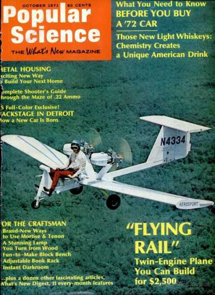 Popular Science - Popular Science - October 1971