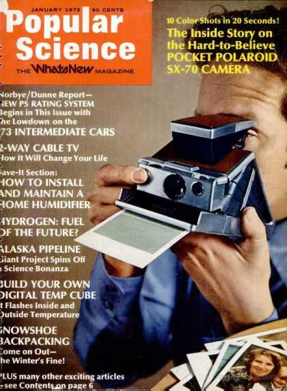 Popular Science - Popular Science - January 1973