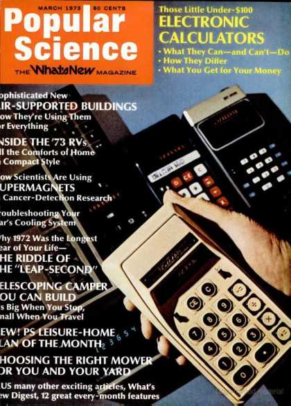 Popular Science - Popular Science - March 1973