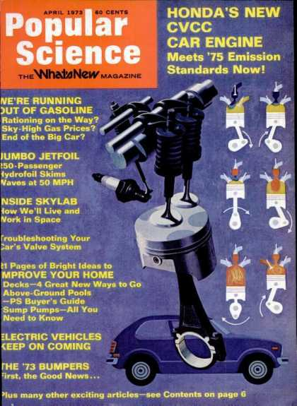 Popular Science - Popular Science - April 1973