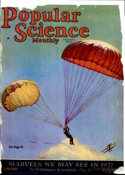 Popular Science - Popular Science - January 1927
