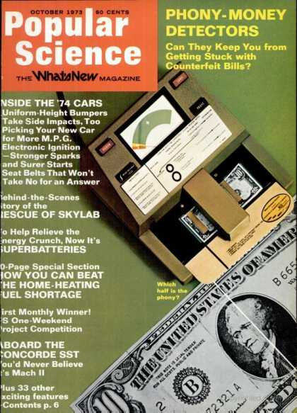 Popular Science - Popular Science - October 1973