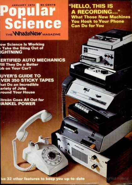 Popular Science - Popular Science - January 1974