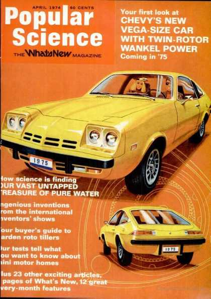 Popular Science - Popular Science - April 1974