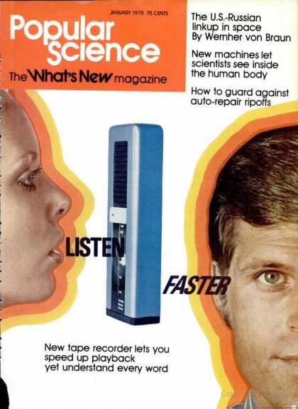 Popular Science - Popular Science - January 1975