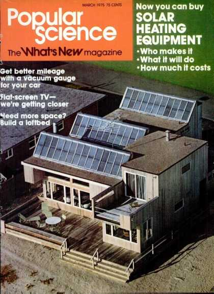 Popular Science - Popular Science - March 1975