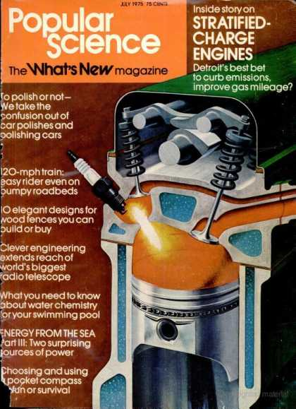 Popular Science - Popular Science - July 1975