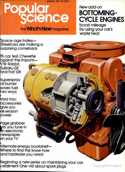 Popular Science - Popular Science - January 1976