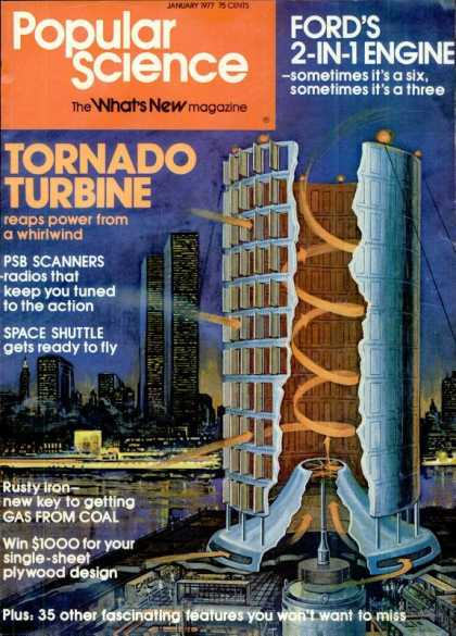 Popular Science - Popular Science - January 1977