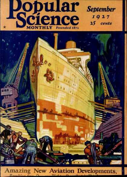 Popular Science - Popular Science - September 1927