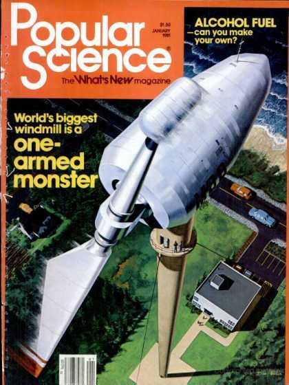 Popular Science - Popular Science - January 1981
