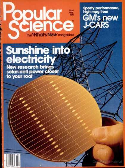Popular Science - Popular Science - April 1981