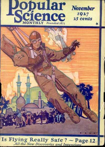 Popular Science - Popular Science - November 1927