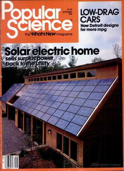 Popular Science - Popular Science - September 1981