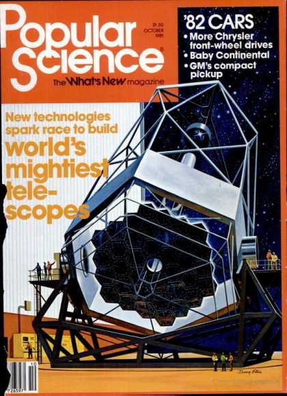Popular Science - Popular Science - October 1981