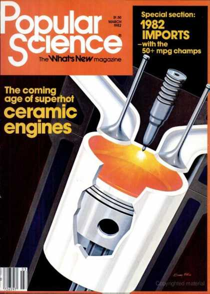 Popular Science - Popular Science - March 1982