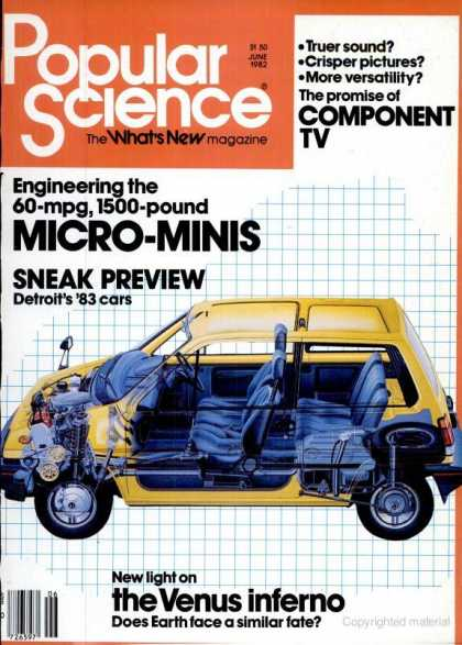 Popular Science - Popular Science - June 1982