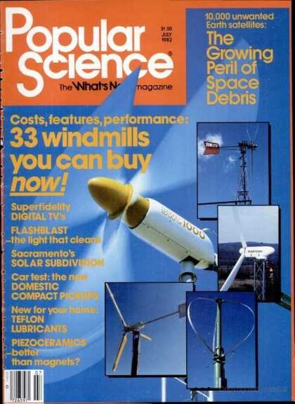 Popular Science - Popular Science - July 1982