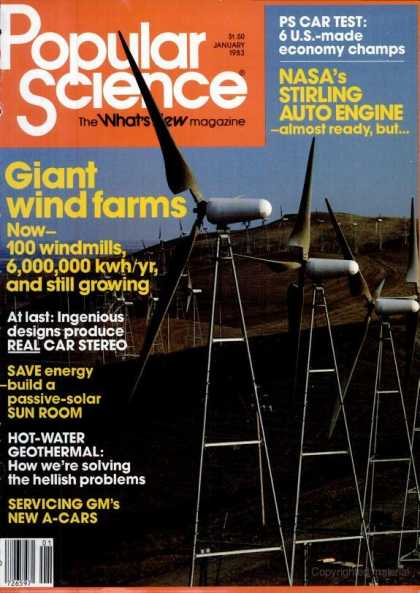 Popular Science - Popular Science - January 1983