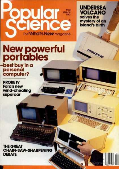 Popular Science - Popular Science - March 1983