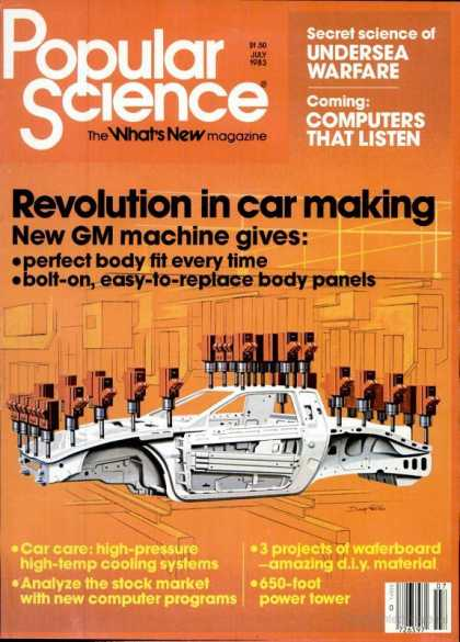 Popular Science - Popular Science - July 1983