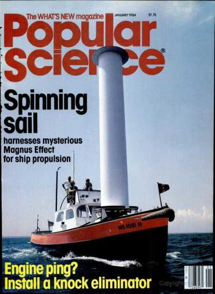Popular Science - Popular Science - January 1984