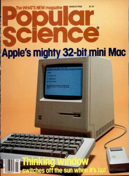 Popular Science - Popular Science - March 1984