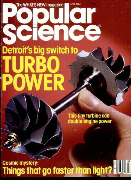 Popular Science - Popular Science - April 1984