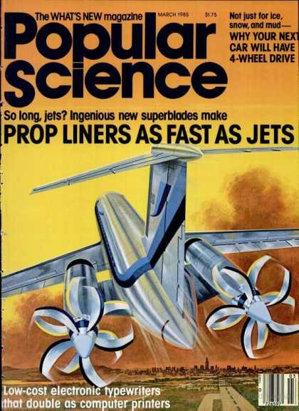 Popular Science - Popular Science - March 1985