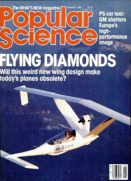 Popular Science - Popular Science - January 1986