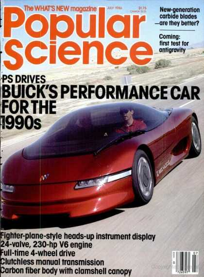 Popular Science - Popular Science - July 1986