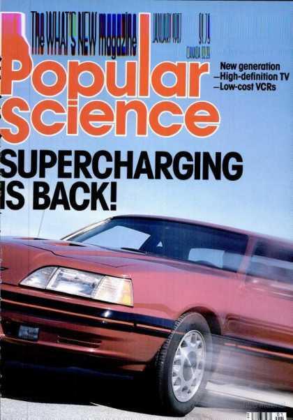 Popular Science - Popular Science - January 1987