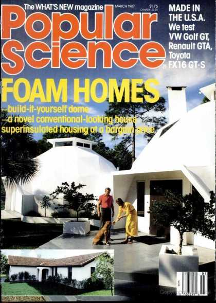 Popular Science - Popular Science - March 1987