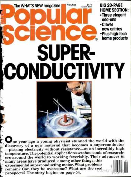 Popular Science - Popular Science - April 1988
