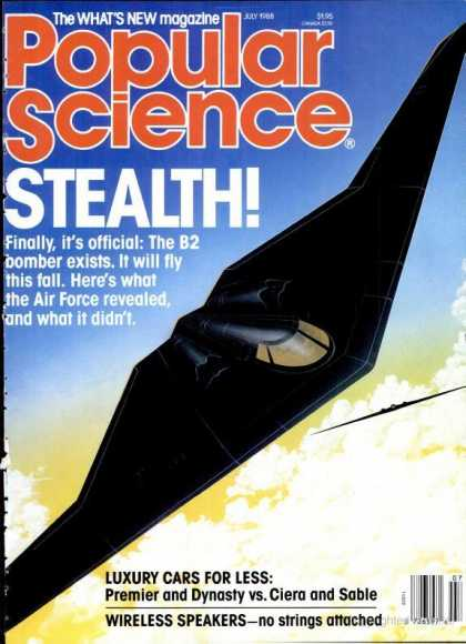 Popular Science - Popular Science - July 1988