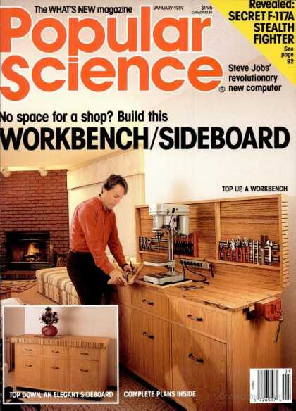Popular Science - Popular Science - January 1989