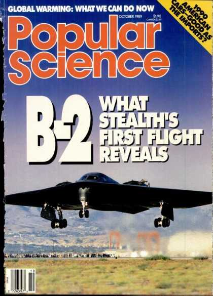 Popular Science - Popular Science - October 1989