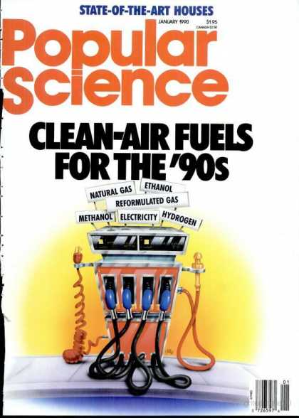 Popular Science - Popular Science - January 1990