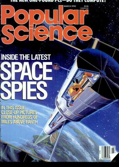 Popular Science - Popular Science - March 1990