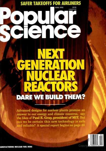 Popular Science - Popular Science - April 1990