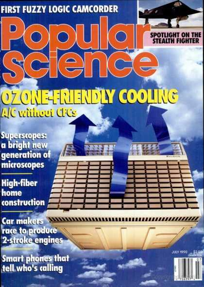 Popular Science - Popular Science - July 1990