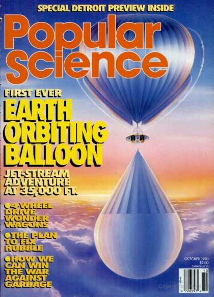 Popular Science - Popular Science - October 1990