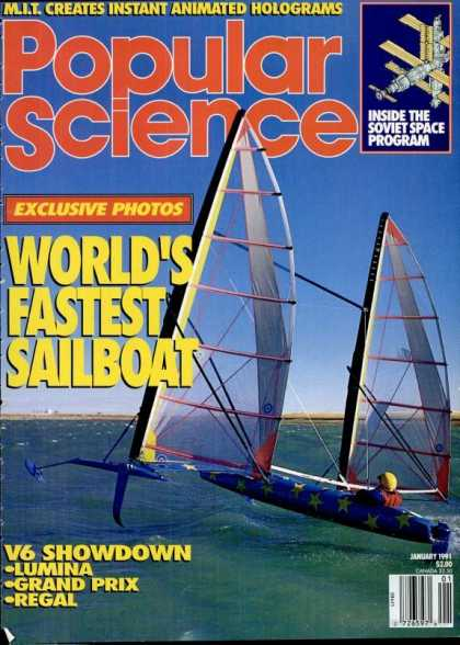 Popular Science - Popular Science - January 1991