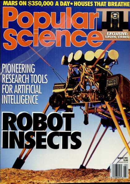 Popular Science - Popular Science - March 1991