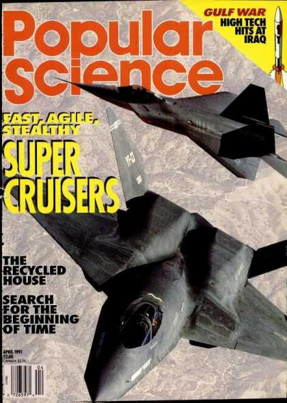 Popular Science - Popular Science - April 1991