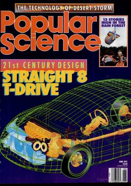 Popular Science - Popular Science - June 1991