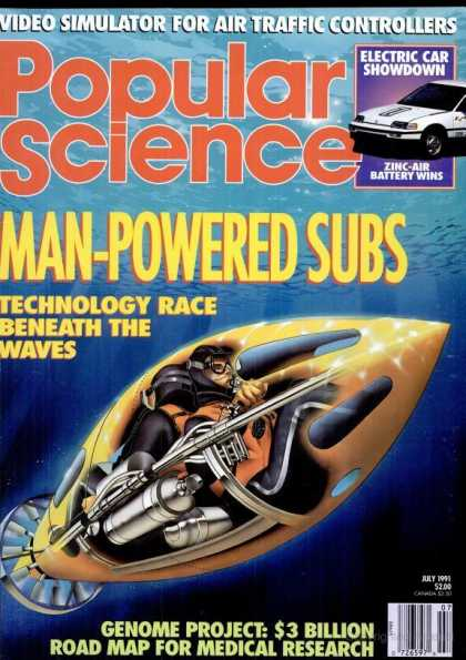 Popular Science - Popular Science - July 1991