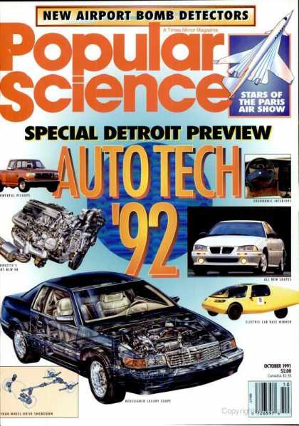 Popular Science - Popular Science - October 1991
