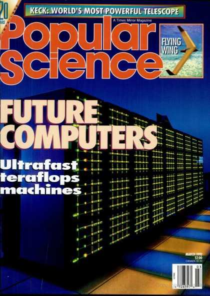 Popular Science - Popular Science - March 1992